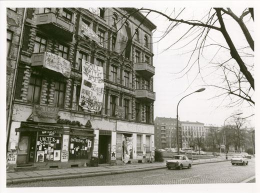 Hausbesetzer 1990er Jahre Ostberlin