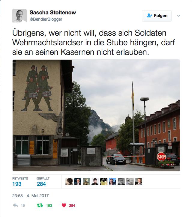 Twitter - Bundeswehrkaserne