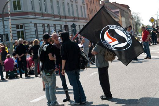 Antifaschistische Blockadepoliik! Ab jetzt auch in Wittstock