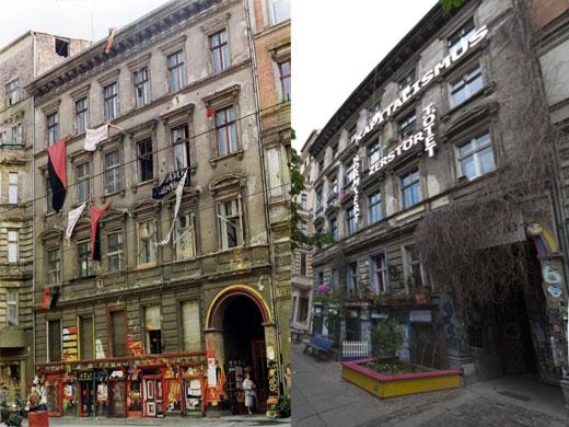 Kastanienallee 86 - 1.6.1990 und 17.5.2012