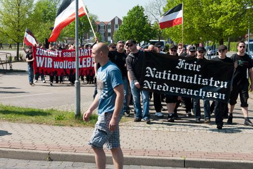 Nazis aus Niedersachsen waren auch dabei.