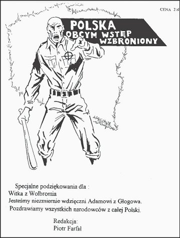 Titelseite des Nazi-Blattes