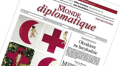 Titelseite der neusten Ausgabe der polnischen Le Monde Diplomatique